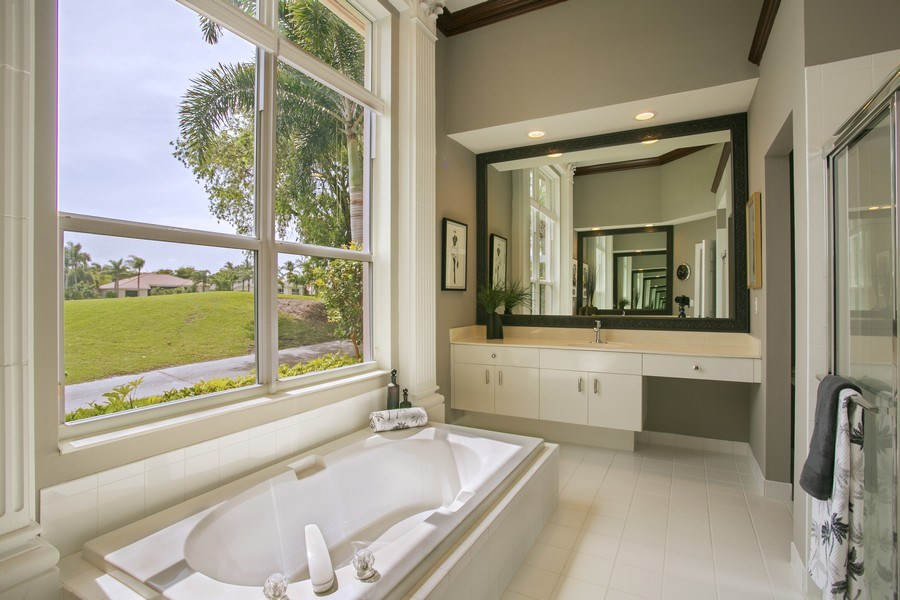 Real Estate Photography - 8660 Falcon Green Drive, West Palm Beach, FL, 33412 - Master Bathroom