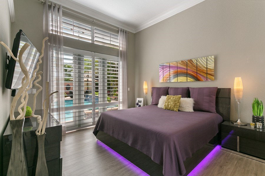 Real Estate Photography - 8660 Falcon Green Drive, West Palm Beach, FL, 33412 - Master Bedroom