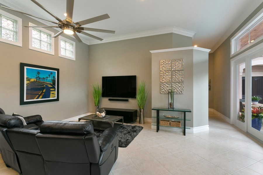 Real Estate Photography - 8660 Falcon Green Drive, West Palm Beach, FL, 33412 - Family Room