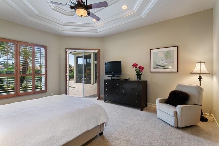 Real Estate Photography - 7101 Tradition Cove Lane East, West Palm Beach, FL, 33412 - Master Bedroom