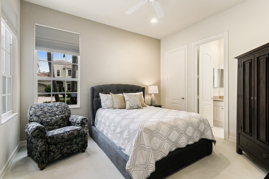 Real Estate Photography - 7101 Tradition Cove Lane East, West Palm Beach, FL, 33412 - 2nd Bedroom