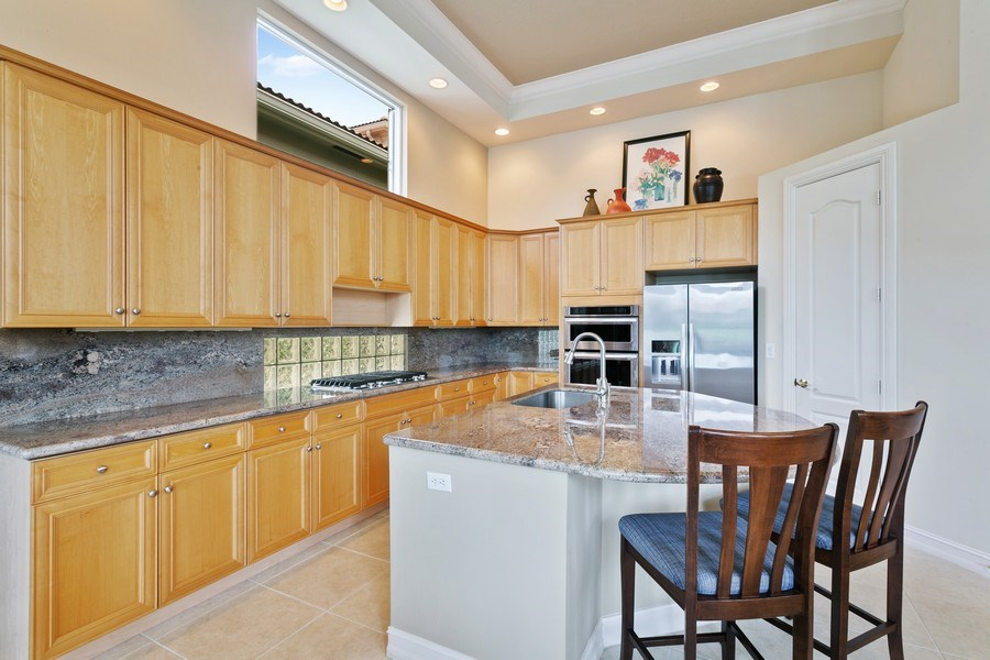 Real Estate Photography - 7101 Tradition Cove Lane East, West Palm Beach, FL, 33412 - Kitchen
