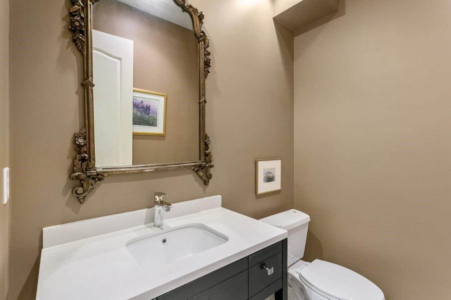 Real Estate Photography - 7101 Tradition Cove Lane East, West Palm Beach, FL, 33412 - Powder Room