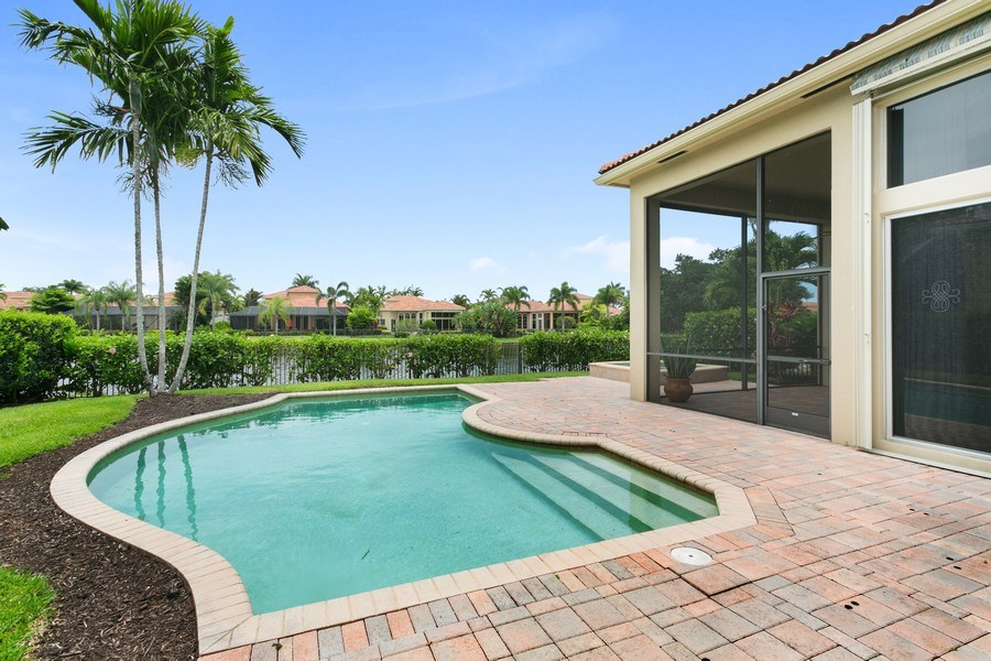 Real Estate Photography - 7101 Tradition Cove Lane East, West Palm Beach, FL, 33412 - Pool