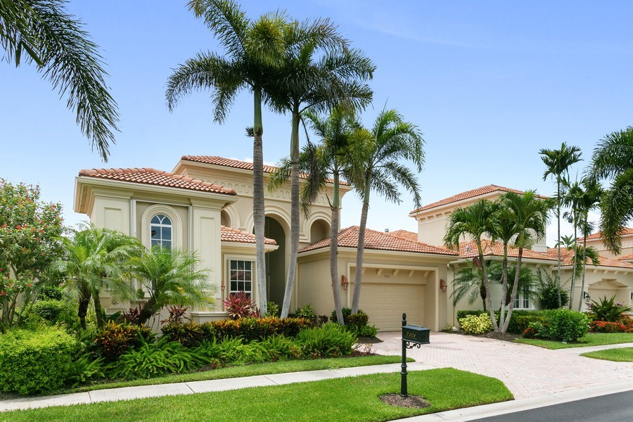 Real Estate Photography - 7101 Tradition Cove Lane East, West Palm Beach, FL, 33412 - Front View