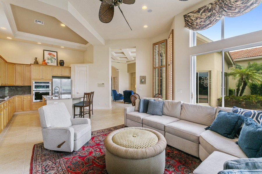 Real Estate Photography - 7101 Tradition Cove Lane East, West Palm Beach, FL, 33412 - Family Room