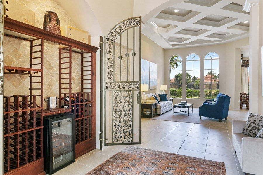 Real Estate Photography - 7101 Tradition Cove Lane East, West Palm Beach, FL, 33412 - Foyer