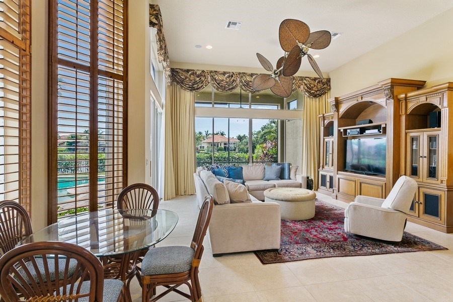 Real Estate Photography - 7101 Tradition Cove Lane East, West Palm Beach, FL, 33412 - Breakfast Area