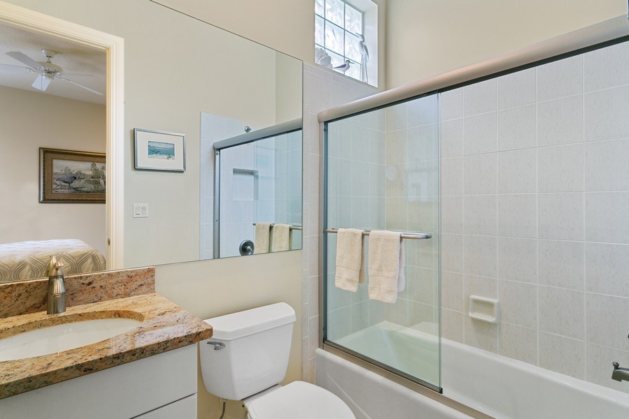 Real Estate Photography - 7101 Tradition Cove Lane East, West Palm Beach, FL, 33412 - 2nd Bathroom