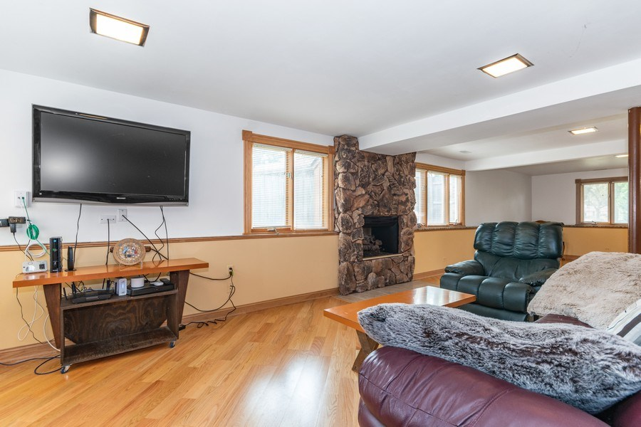Real Estate Photography - 1714 W Stone Ave, Addison, IL, 60101 - Family Room