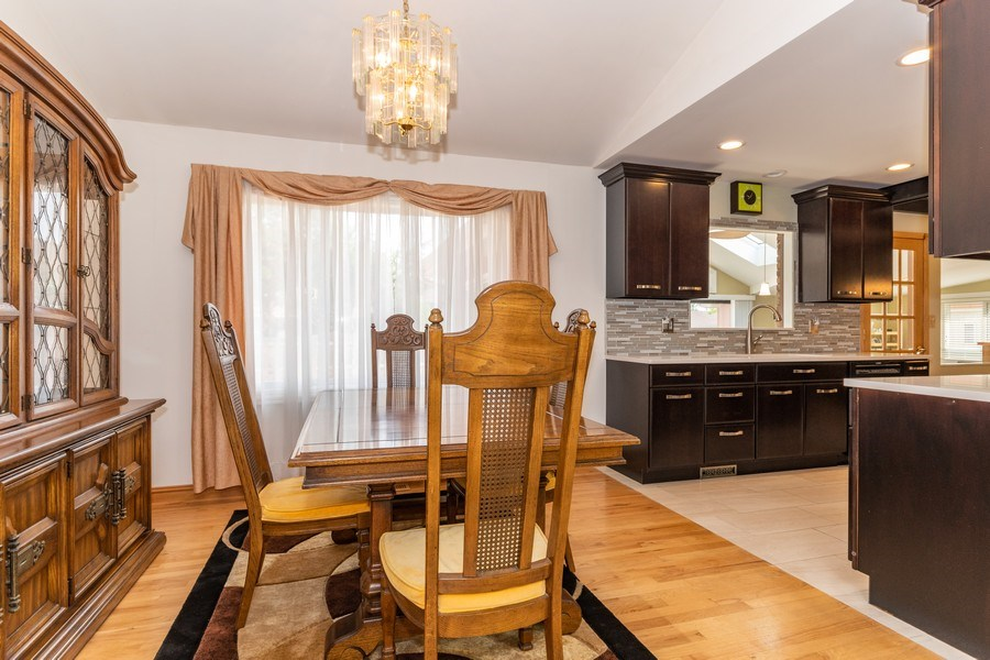 Real Estate Photography - 1714 W Stone Ave, Addison, IL, 60101 - Dining Room