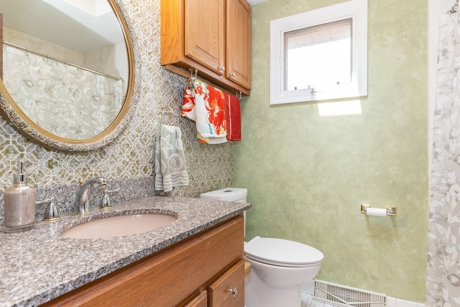 Real Estate Photography - 1714 W Stone Ave, Addison, IL, 60101 - Bathroom
