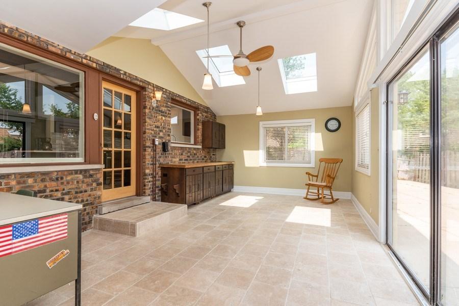 Real Estate Photography - 1714 W Stone Ave, Addison, IL, 60101 - Patio