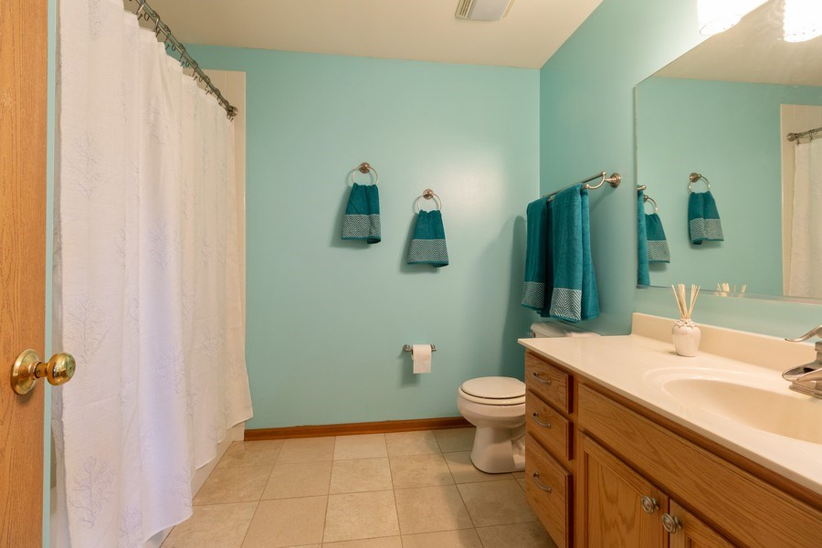 Real Estate Photography - 12214 Shagbark Drive, Plainfield, IL, 60585 - Master Bathroom
