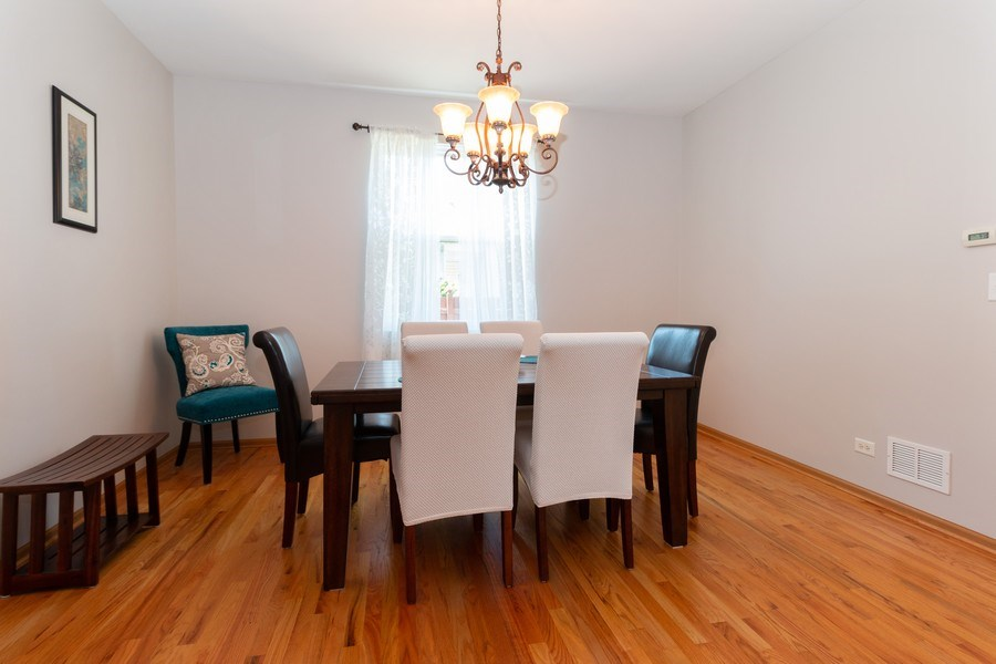 Real Estate Photography - 12214 Shagbark Drive, Plainfield, IL, 60585 - Dining Room