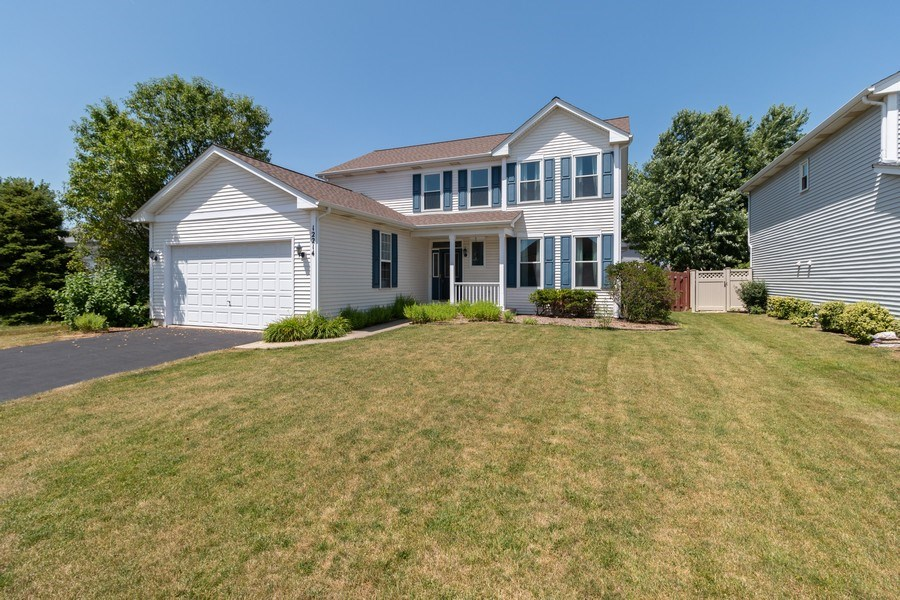 Real Estate Photography - 12214 Shagbark Drive, Plainfield, IL, 60585 - Front View