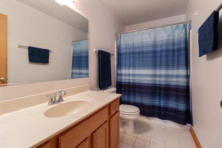 Real Estate Photography - 12214 Shagbark Drive, Plainfield, IL, 60585 - Bathroom