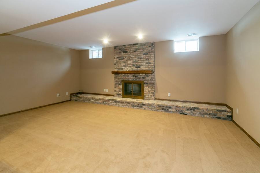 Real Estate Photography - 10924 Girard Curve, Bloomington, MN, 55431 - Living Rm/Family Rm