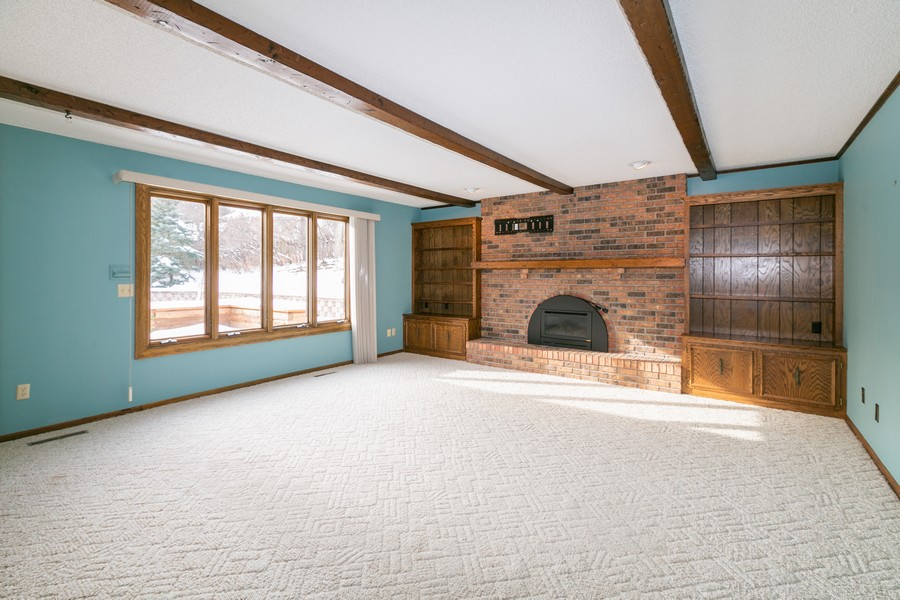 Real Estate Photography - 10924 Girard Curve, Bloomington, MN, 55431 - Family Room