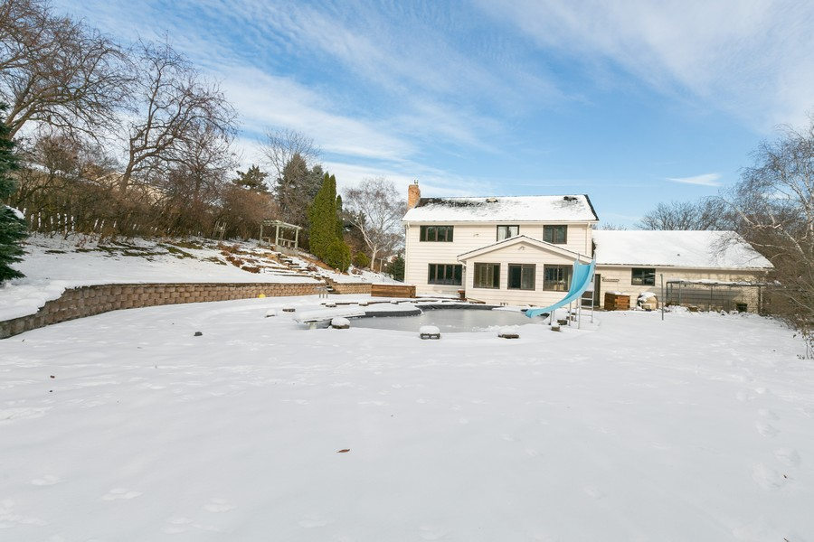 Real Estate Photography - 10924 Girard Curve, Bloomington, MN, 55431 - Rear View
