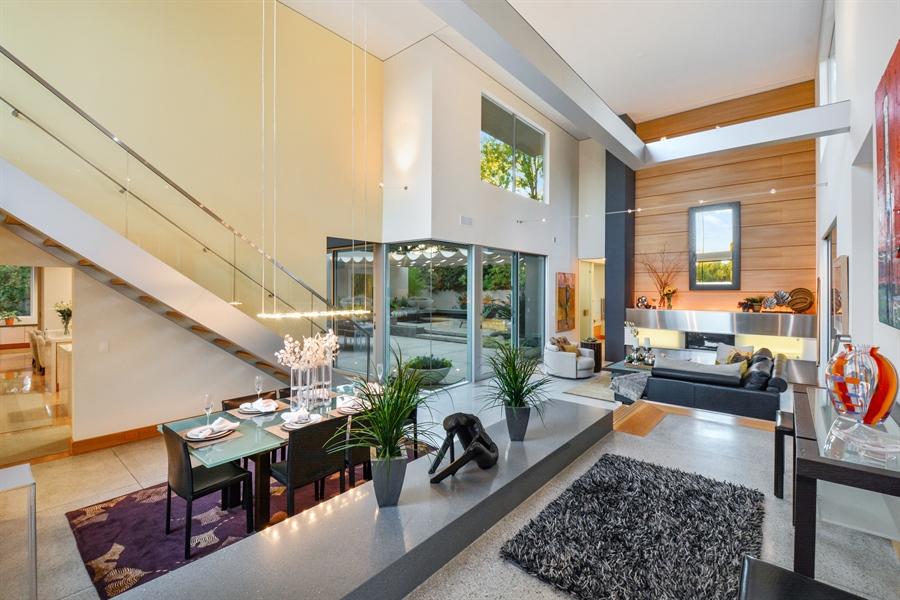 Real Estate Photography - 641 Estates Dr, Sacramento, CA, 95864 - E - Spacious Living and Dining Area