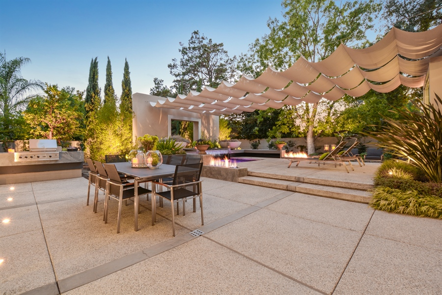 Real Estate Photography - 641 Estates Dr, Sacramento, CA, 95864 - X -Enchanted Patio for Entertaining Family and Fri