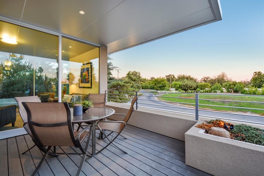 Real Estate Photography - 641 Estates Dr, Sacramento, CA, 95864 - P - Balcony with Panoramic Views