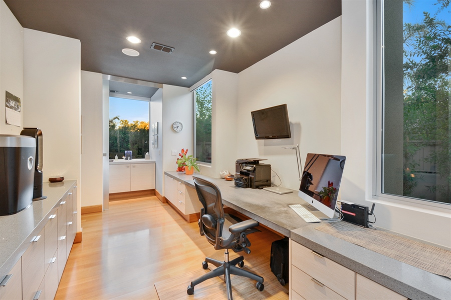 Real Estate Photography - 641 Estates Dr, Sacramento, CA, 95864 - K - Spacious and Sleek Office Space
