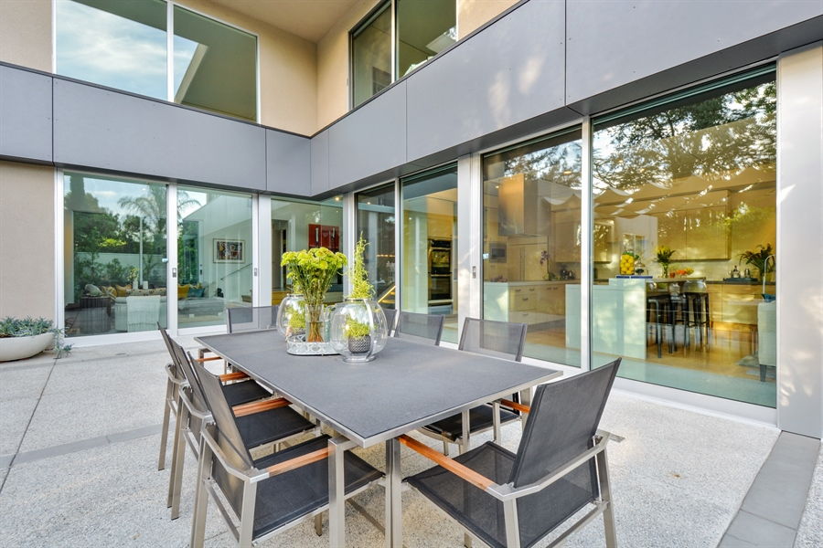 Real Estate Photography - 641 Estates Dr, Sacramento, CA, 95864 - S - Solar-Cooled Patio