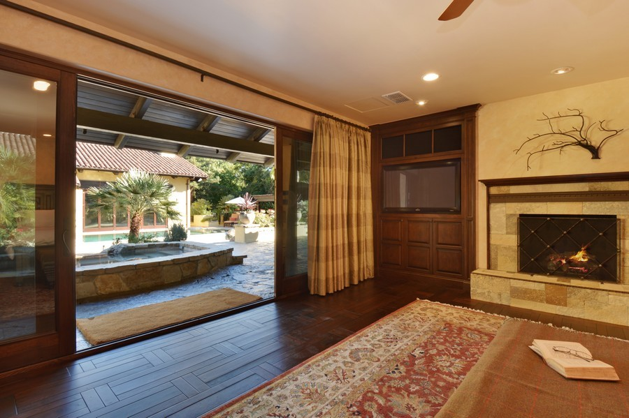 Real Estate Photography - 3771 Random Ln, Sacramento, CA, 95864 - Master opening to a luxurious Spa