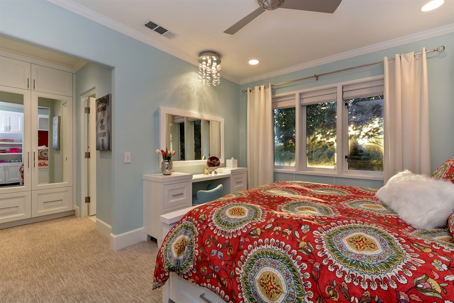 Real Estate Photography - 3771 Random Ln, Sacramento, CA, 95864 - 2nd Bedroom with en suite Bath