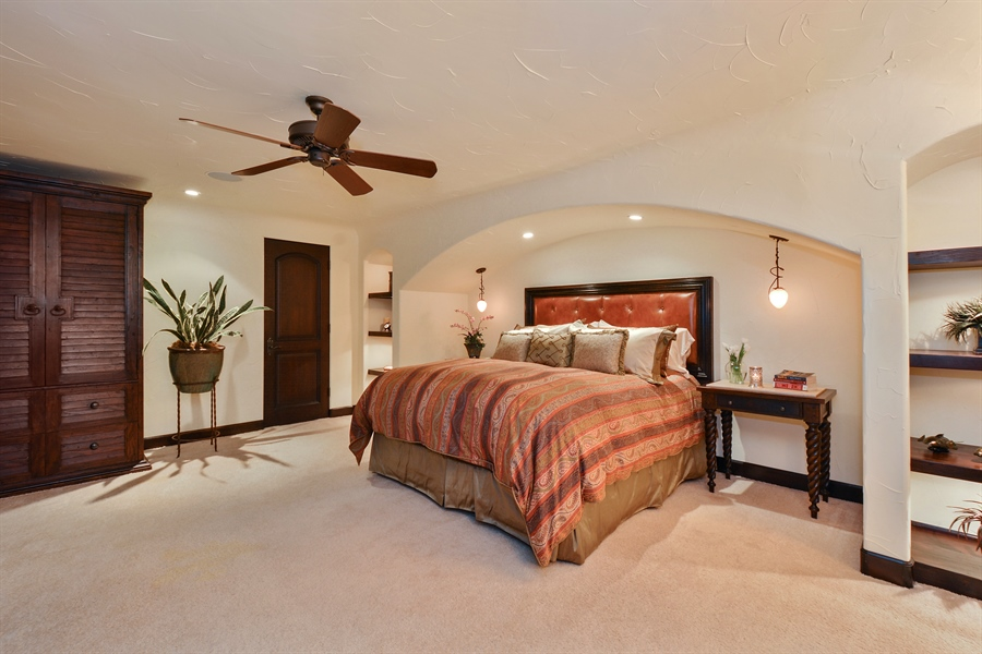 Real Estate Photography - 3771 Random Ln, Sacramento, CA, 95864 - Guest Bedroom with walk-in closet