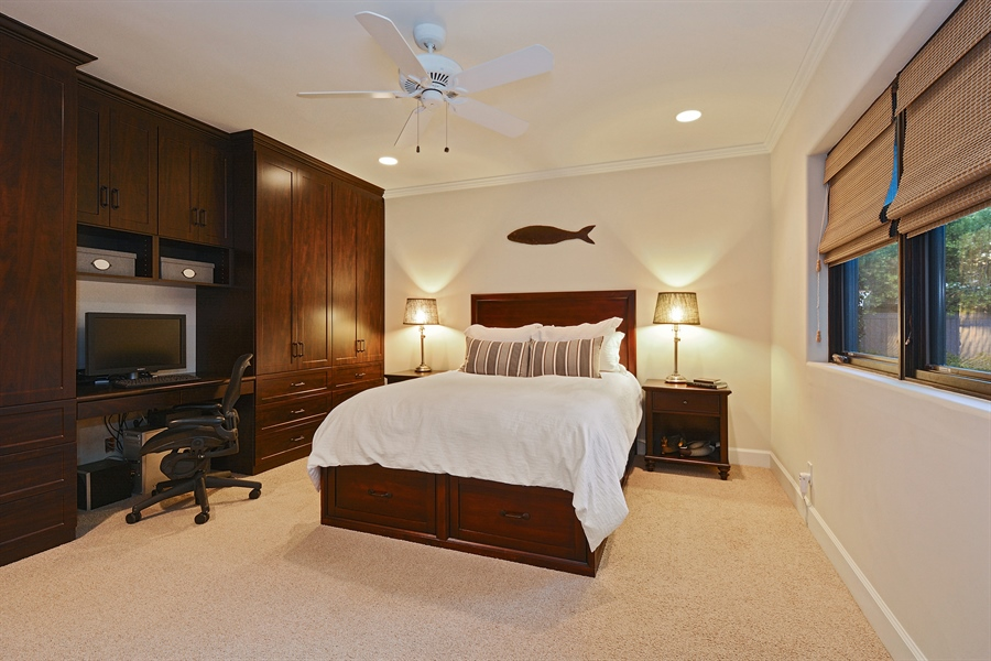 Real Estate Photography - 3771 Random Ln, Sacramento, CA, 95864 - 3rd Bedroom with en suite Bath