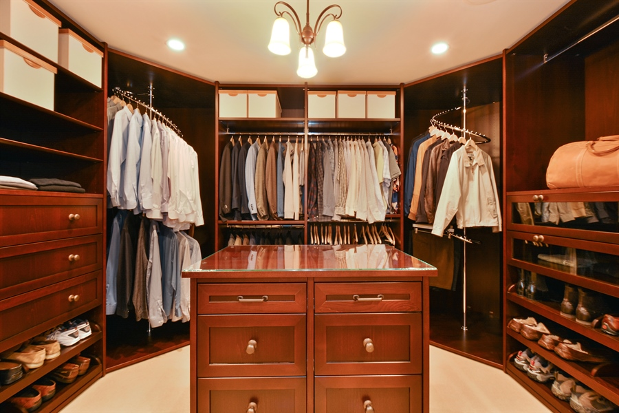 Real Estate Photography - 3771 Random Ln, Sacramento, CA, 95864 - Custom designed Master Closet