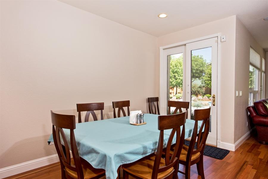Real Estate Photography - 5721 Hoag, Davis, CA, 95618 - Dining Area