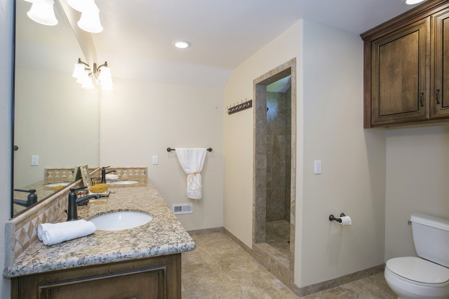 Real Estate Photography - 6385 Rainier Ave, Rocklin, CA, 95677 - Master Bathroom