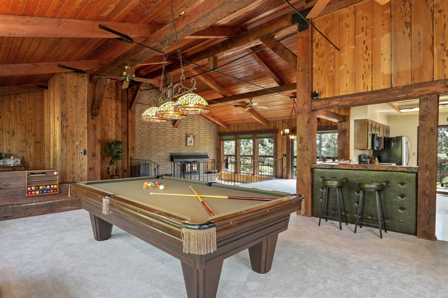 Real Estate Photography - 545 Conifer Ln.st, Auburn, CA, 95602 - Pool Room