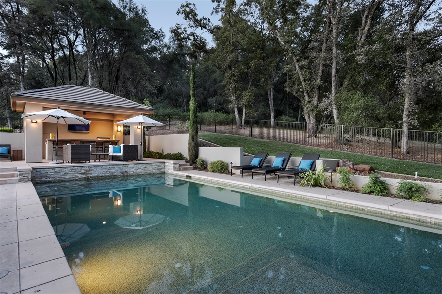 Real Estate Photography - 1140 Stags Leap Lane, Auburn, CA, 95602 - Pool