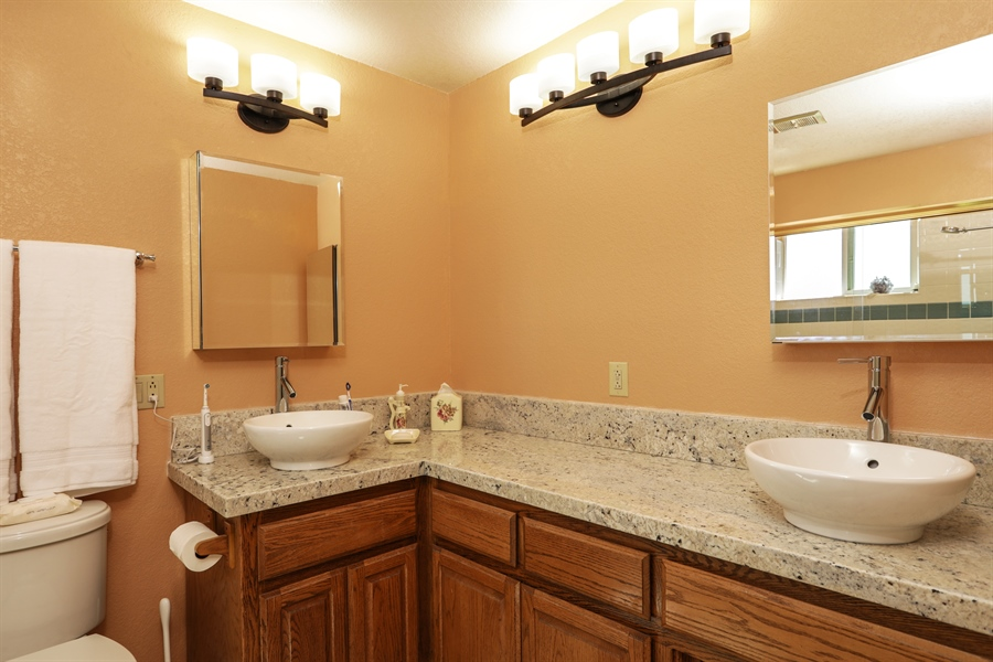 Real Estate Photography - 3838 Lariat Drive, Cameron Park, CA, 95682 - Master Bathroom