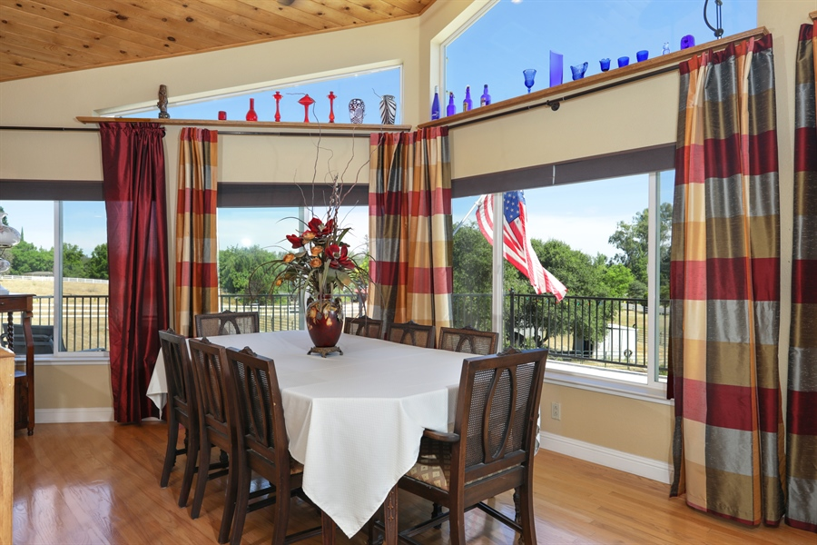 Real Estate Photography - 3838 Lariat Drive, Cameron Park, CA, 95682 - Dining Room
