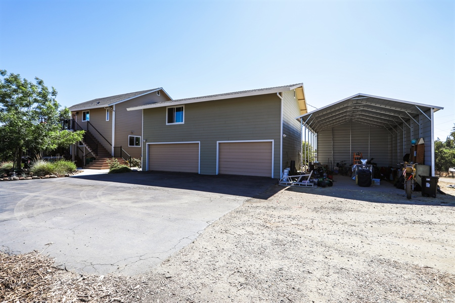 Real Estate Photography - 3838 Lariat Drive, Cameron Park, CA, 95682 - Garage