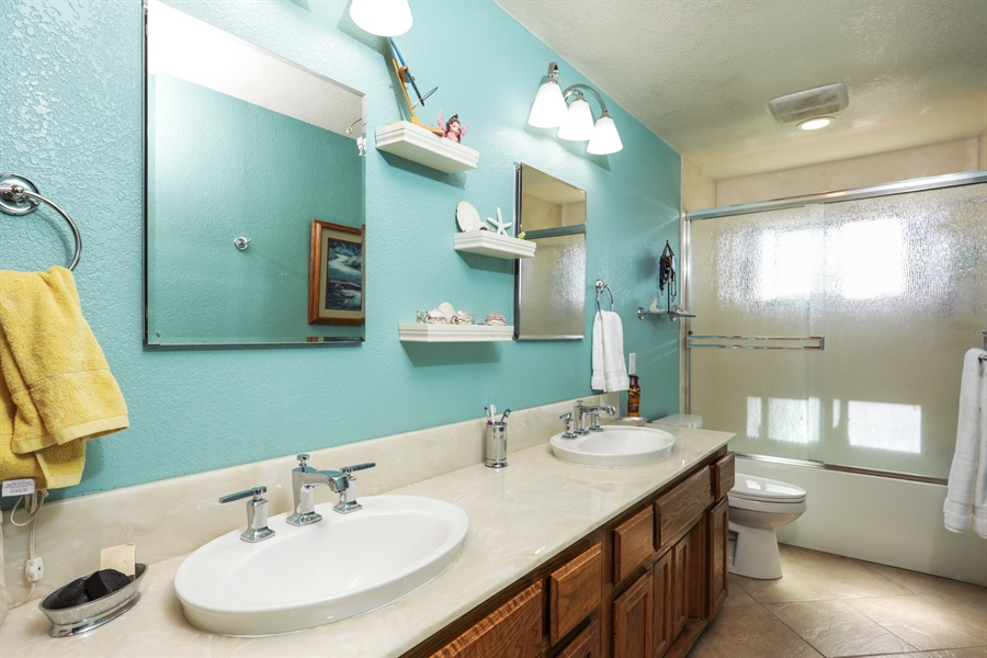 Real Estate Photography - 3838 Lariat Drive, Cameron Park, CA, 95682 - 2nd Bathroom