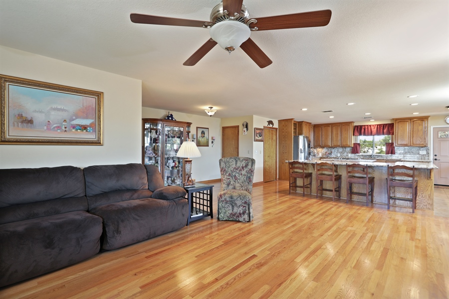 Real Estate Photography - 3838 Lariat Drive, Cameron Park, CA, 95682 - Kitchen / Living Room