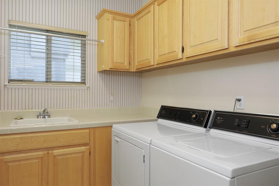 Real Estate Photography - 4537 Shenandoah Rd, Rocklin, CA, 95765 - Laundry Room