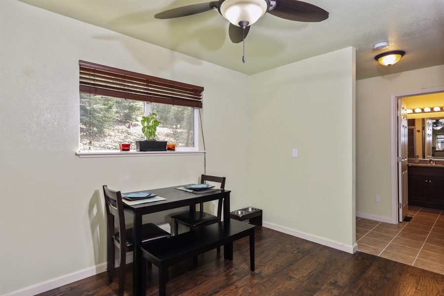 Real Estate Photography - 19044 Hummingbird Drive, Penn Valley, CA, 95946 - Dining Room