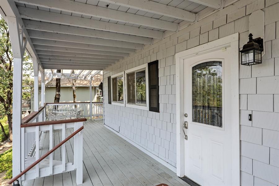 Real Estate Photography - 19044 Hummingbird Drive, Penn Valley, CA, 95946 - Porch