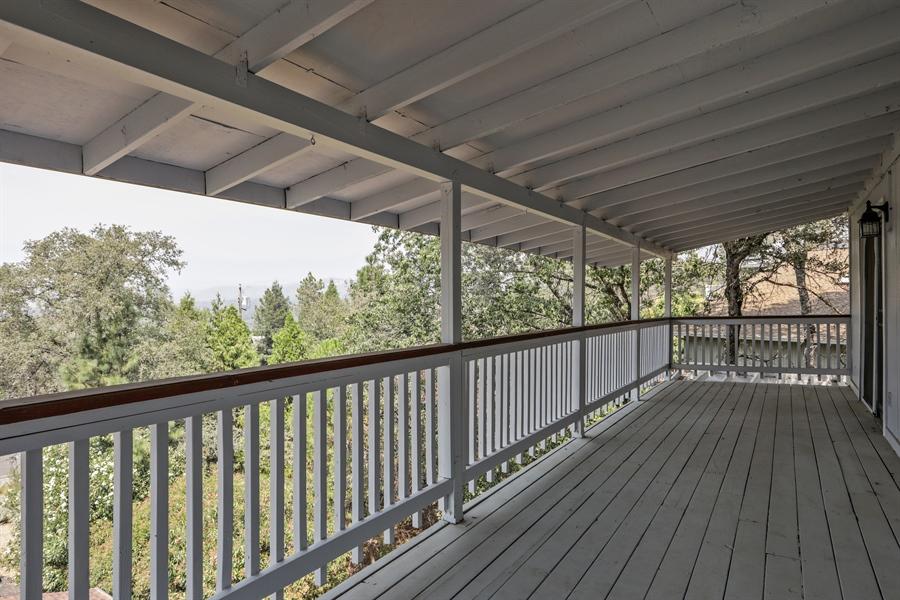 Real Estate Photography - 19044 Hummingbird Drive, Penn Valley, CA, 95946 - Deck