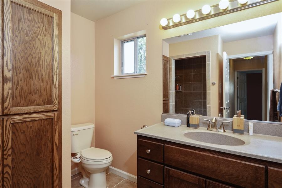 Real Estate Photography - 19044 Hummingbird Drive, Penn Valley, CA, 95946 - 2nd Bathroom