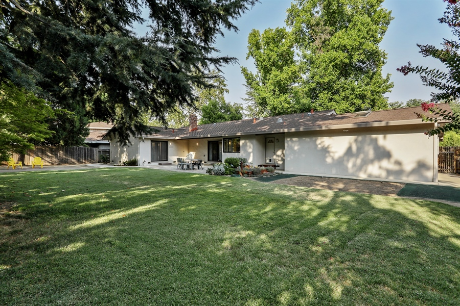 Real Estate Photography - 2549 Morley Way, Sacramento, CA, 95864 - Rear View