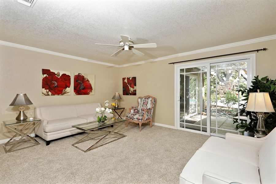 Real Estate Photography - 6035 MacDuff Dr, Granite Bay, CA, 95746 - Living Room